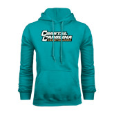 Champion Teal Fleece Hood-Coastal Carolina Chanticleers