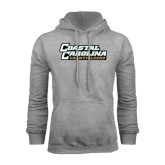 Champion Grey Fleece Hood-Coastal Carolina Chanticleers