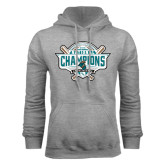 Grey Fleece Hoodie-2016 NCAA Baseball National Champions