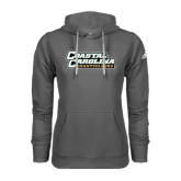 Adidas Climawarm Charcoal Team Issue Hoodie-Coastal Carolina Chanticleers