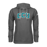 Adidas Climawarm Charcoal Team Issue Hoodie-Arched CCU