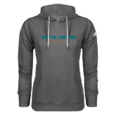 Adidas Climawarm Charcoal Team Issue Hoodie-Coastal Carolina University