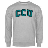 Champion Grey Fleece Crew-Arched CCU