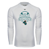 Under Armour White Long Sleeve Tech Tee-2016 NCAA College World Series Baseball Champions