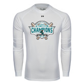 Under Armour White Long Sleeve Tech Tee-2016 NCAA Baseball National Champions