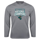 Syntrel Performance Steel Longsleeve Shirt-2016 NCAA National Champions Baseball