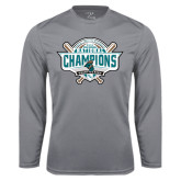 Performance Steel Longsleeve Shirt-2016 NCAA Baseball National Champions