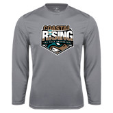 Syntrel Performance Steel Longsleeve Shirt-Coastal Rising - Sun Belt Conference