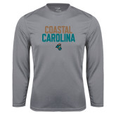Syntrel Performance Steel Longsleeve Shirt-Coastal Carolina Stacked