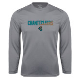Syntrel Performance Steel Longsleeve Shirt-Chanticleers Two Tone