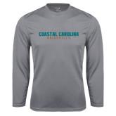 Syntrel Performance Steel Longsleeve Shirt-Coastal Carolina University