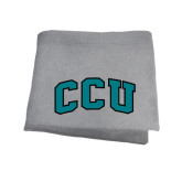 Grey Sweatshirt Blanket-Arched CCU