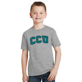 Youth Grey T-Shirt-Arched CCU