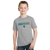 Youth Grey T-Shirt-Chanticleers Two Tone