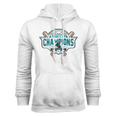 White Fleece Hoodie-2016 NCAA Baseball National Champions