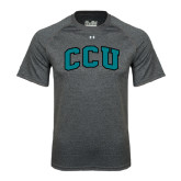Under Armour Carbon Heather Tech Tee-Arched CCU