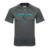 Under Armour Carbon Heather Tech Tee-Coastal Carolina Arched