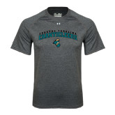 Under Armour Carbon Heather Tech Tee-Coastal Carolina  Chanticleers Arched