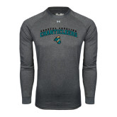 Under Armour Carbon Heather Long Sleeve Tech Tee-Coastal Carolina  Chanticleers Arched