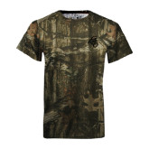 Realtree Camo T Shirt-Chanticleer Head