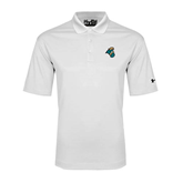 Under Armour White Performance Polo-Chanticleer Head