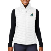 Columbia Mighty LITE Ladies White Vest-Official Logo