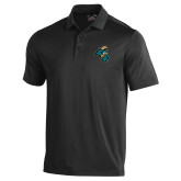 Under Armour Black Performance Polo-Chanticleer Head