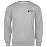 Champion Grey Fleece Crew-Coastal Carolina Chanticleers