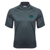 Charcoal Dri Mesh Pro Polo-2016 NCAA College World Series Baseball Champions Polo