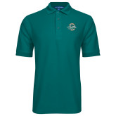 Teal Easycare Pique Polo-2016 NCAA College World Series Champions