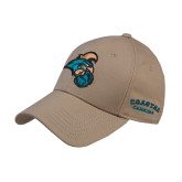 Khaki Heavyweight Twill Pro Style Hat-Chanticleer Head