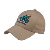 Khaki Heavyweight Twill Pro Style Hat-Official Logo