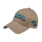 Khaki Heavyweight Twill Pro Style Hat-Coastal Carolina Chanticleers