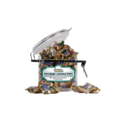 Snickers Satisfaction Small Round Canister-Coastal Carolina Chanticleers