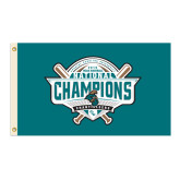 3 ft x 5 ft Flag-2016 NCAA Baseball National Champions