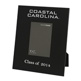 Black Metal 5 x 7 Photo Frame-Coastal Carolina Engraved, Personalized
