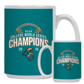 Full Color White Mug 15oz-2016 NCAA College World Series Baseball Champions