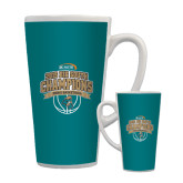 Full Color Latte Mug 17oz-Big South Basketball Champions 2015