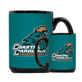 Full Color Black Mug 15oz-Official Logo