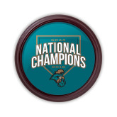 Round Coaster Frame w/Insert-2016 NCAA National Champions Baseball