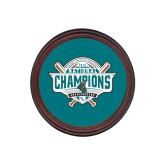 Round Coaster Frame w/Insert-2016 NCAA Baseball National Champions