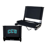 Stadium Chair Black-Arched CCU