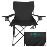 Deluxe Black Captains Chair-Coastal Carolina Arched
