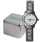 Mens Stainless Steel Fashion Watch-Coastal Carolina