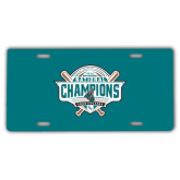 License Plate-2016 NCAA Baseball National Champions