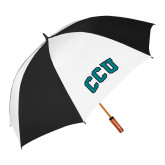 62 Inch Black/White Umbrella-Arched CCU