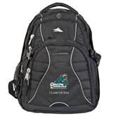 High Sierra Swerve Black Compu Backpack-Official Logo, Personalized