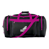 Black With Pink Gear Bag-Official Logo