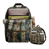 Heritage Supply Camo Computer Backpack-Chanticleer Head