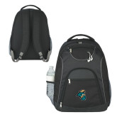 The Ultimate Black Computer Backpack-Chanticleer Head